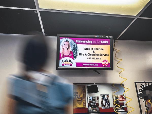 campus advertising